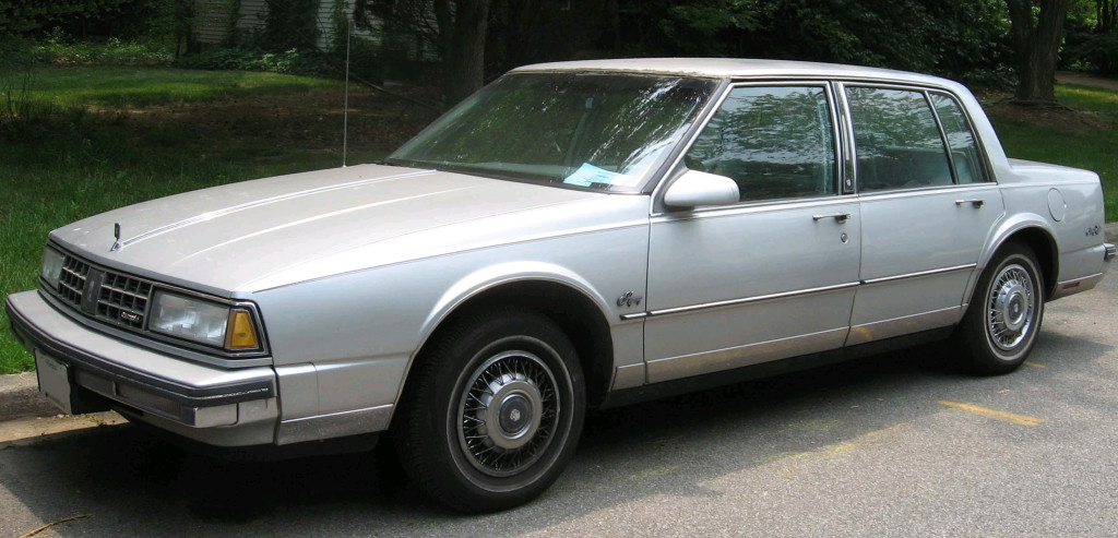 DEFINITELY your father's Oldsmobile.                      (IFCAR/Wikimedia Commons)