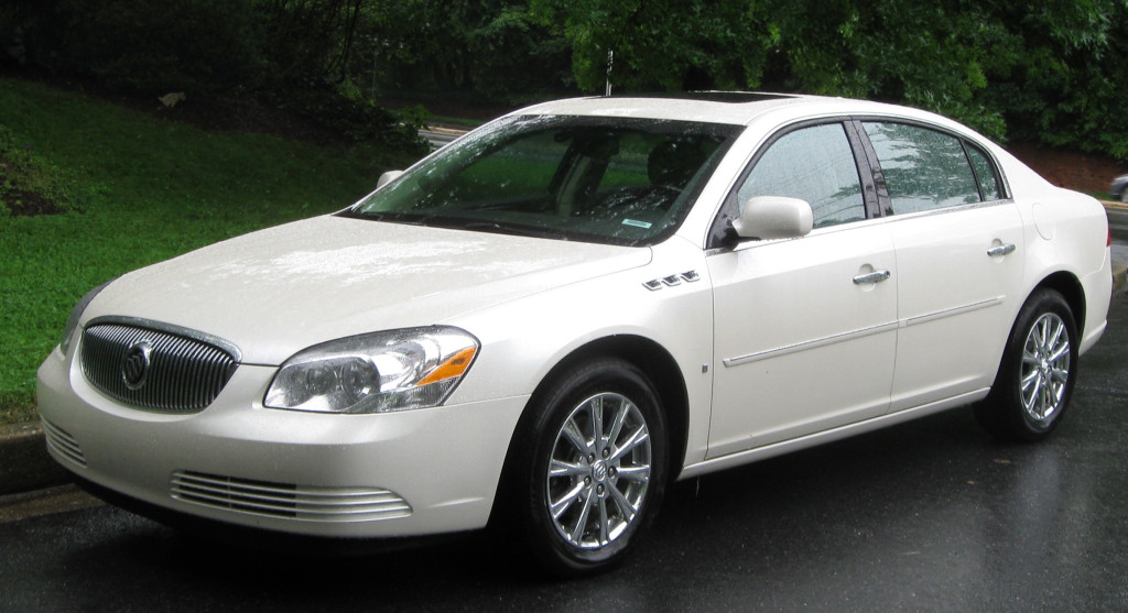 The late, great Buick Lucerne (some would just say 'late').  (IFCAR/Wikimedia Commons)