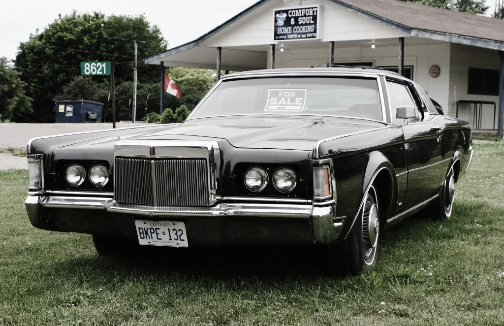 1969-71 Lincoln Continental Mk. III, spotted near Leamington, Ontario.