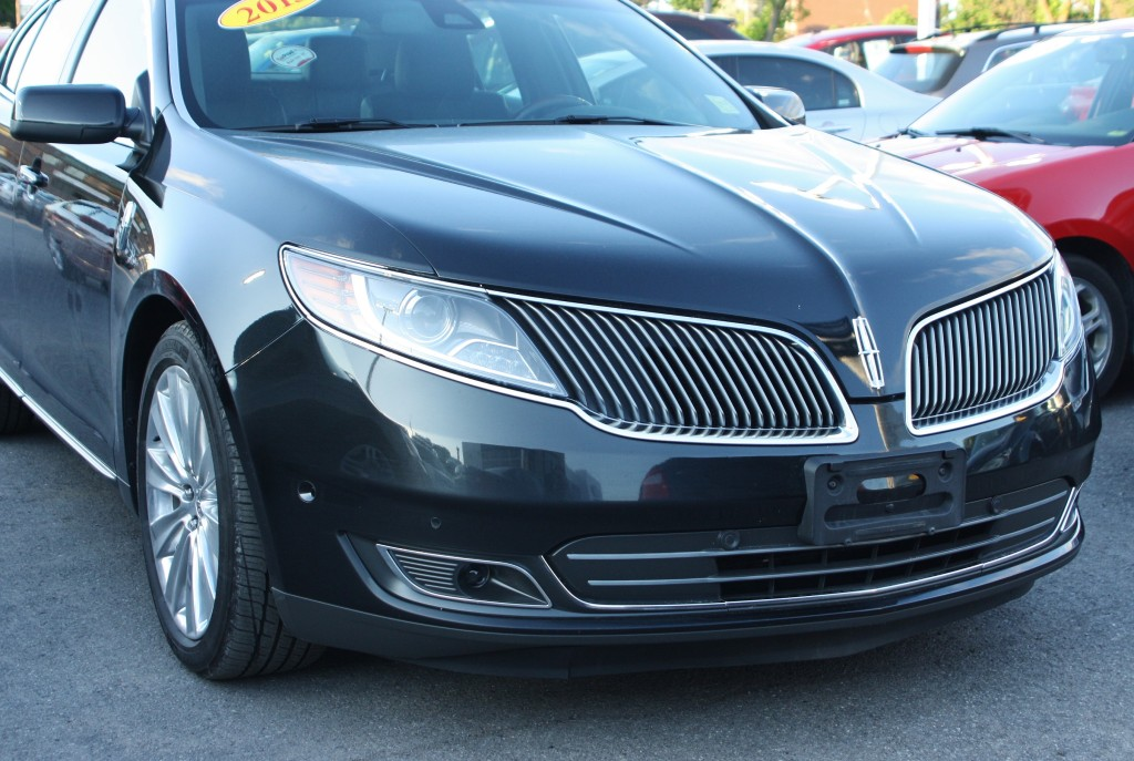 The Lincoln MKS: a whale of a sedan.