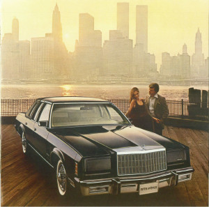 """Do you park your 1979 Chrysler New Yorker here often?"" (Chrysler promotional photo)"