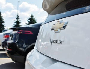 Sales of the first-generation Volt slipped in 2014.