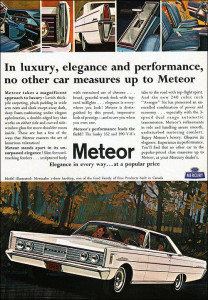 1965 Meteor Montcalm: more than a Mercury?