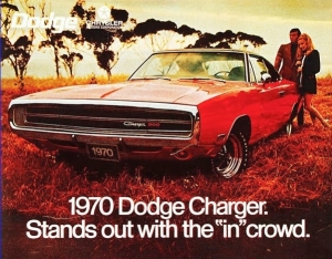 Though it embraced counter-culture identity, Chrysler's hippie-era ads still equate belonging to a group with happiness, satisfaction and status.