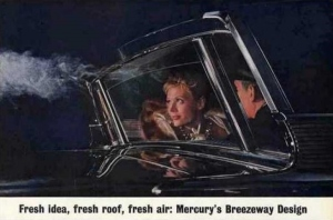 It was impossible not to smoke ALL THE TIME in the Mad Men era, and this 1963 ad showed how the Breezeway could change your life.