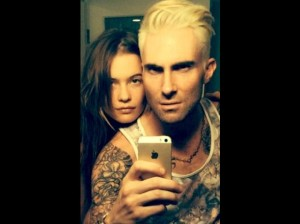 Adam Levine in 2013 (photo: Twitter)