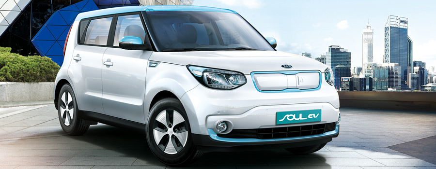 Socket to me: the 2015 Kia Soul EV (photo: Kia)