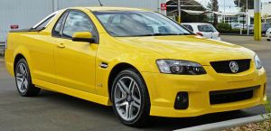 2010-2011 Holden Ute. Since the mid-1930s, GM's Australian division has been cranking out Utes without stopping (image: OSX/Wikimedia Commons)