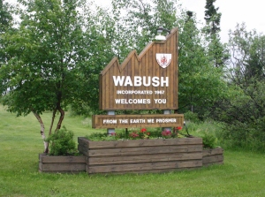 Wabush, Labrador - a remote iron mining town and the setting of the famous 1955 sci-fi novel 'The Chrysalids'.