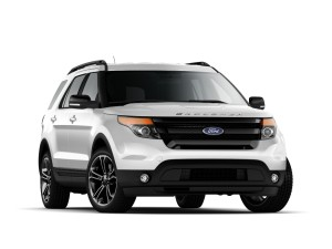 2015 Ford Explorer Sport. Now, isn't that better? (Image: Ford)