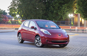 Sales of the Nissan LEAF topped 1,000 units in Canada in 2014, a new high for the all-electric vehicle (Image: Nissan)