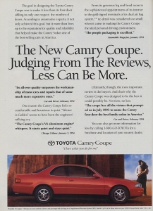 Oh, it's MORE, baby! Could the '92-96 Camry be the most rock-solid midsize ever?