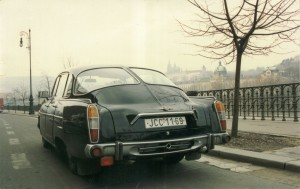 Like the front, the rear end of the Tatra 603 was charmingly unique (Image: Wikimedia Commons)