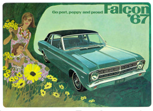 Ford Falcon - the vehicle of choice for Flower Children everywhere.