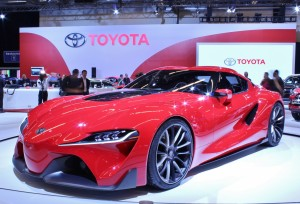 Here it is - the 2084 Camry! Actually, the Toyota FT1 concept is meant to tease a future design direction for the company.