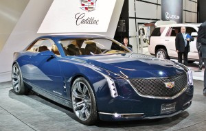 The Cadillac Elmiraj concept rolled into Canada to show us what a luxury American coupe should look like.