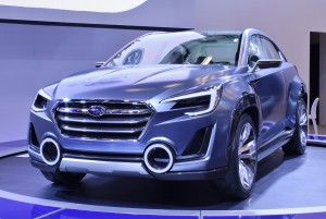 Subaru's VIZIV 2 concept (another 2-door sport crossover!) reflects the company's future styling plans.