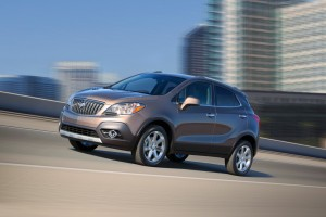 Buick made impressive sales gains in Canada in 2014, selling 31% more than the year before (Image: General Motors)