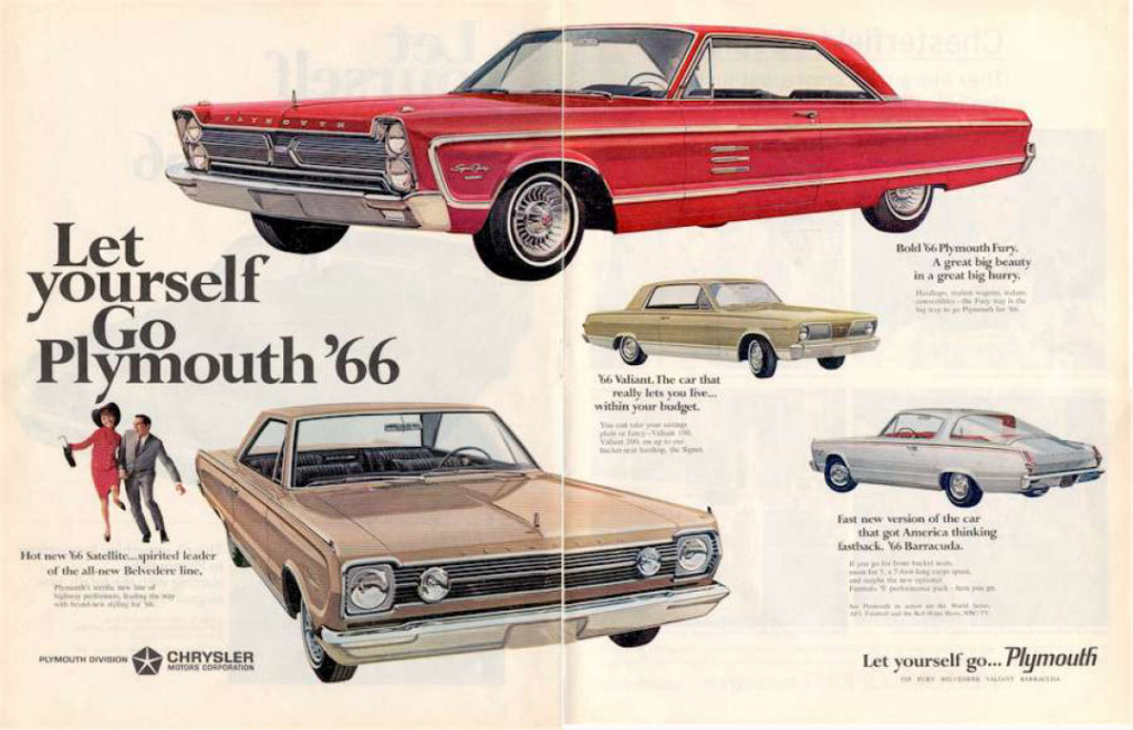 The early rumblings of the muscle car could be heard in 1966.