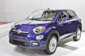 Fiat ranked dead last in the vehicle dependability study, which factored heavily on in-car technology. A 2015 Fiat 500X is seen here.