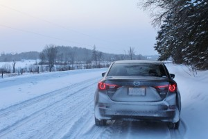 The Mazda3 weathered the coldest February on record in the Ottawa Valley with ease.