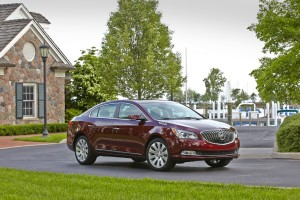 Buick rose to the Number 2 spot in this year's J.D. Power Vehicle Dependability Study (Image: General Motors)