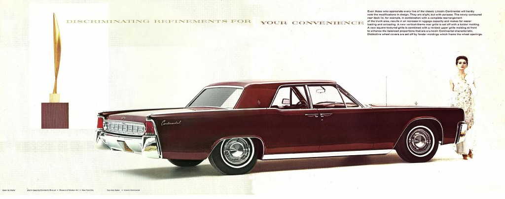 If the Continental name returns, could it return Lincoln to the forefront of luxury motoring?