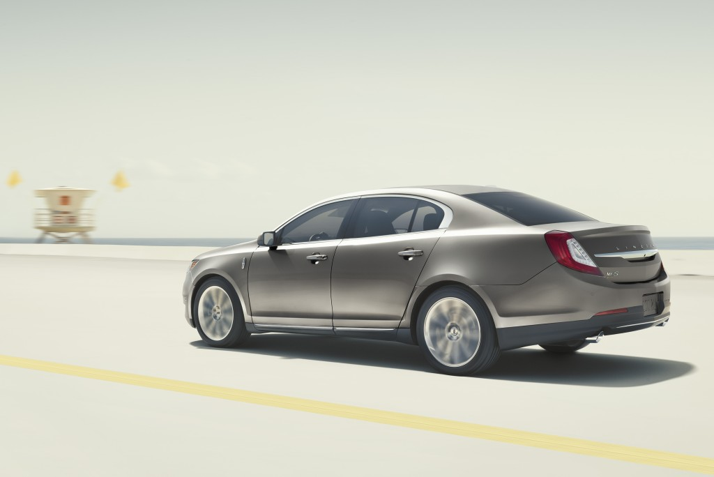 The Lincoln MKS is due for a styling change, but will it also get a name change? (Cropped image: Ford Motor Company)