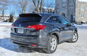 The Acura RDX shares many of the styling cues of its larger brother, the MDX.