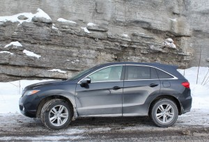 The Acura RDX comes standard with full-time all-wheel-drive.