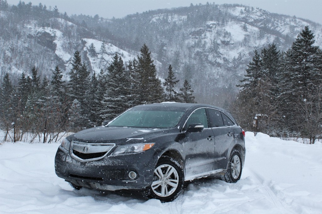 The coldest February on record didn't deter the 2015 Acura RDX from seeking snowy adventure.