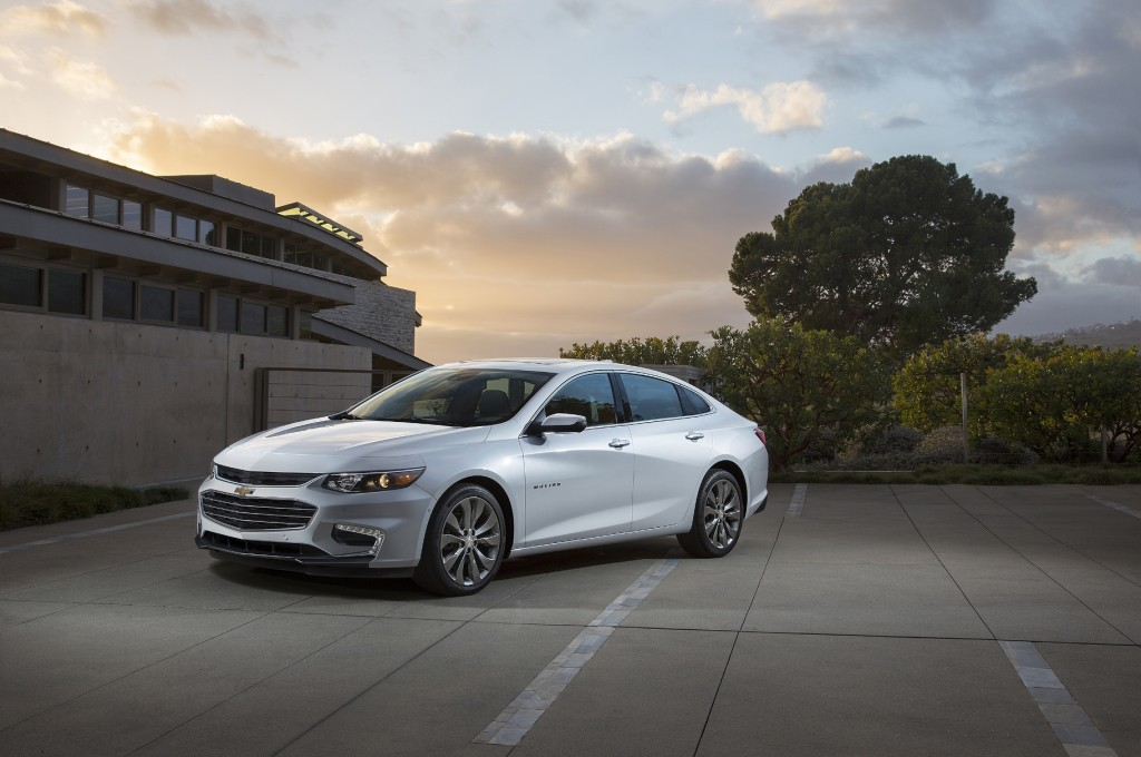 The 2016Malibu appears ready to make up lost ground (Image: General Motors)