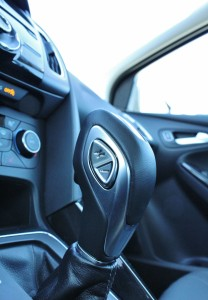 The 6-speed dual-clutch automatic unfortunately doesn't have its own gate for manual shifting. A shallow, thumb-actuated shifter is offered, but is easily ignored.