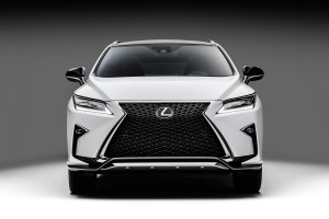 """Look over here!"" screams the Lexus RX 350 F-Sport (Image: Toyota Motor Corporation)"