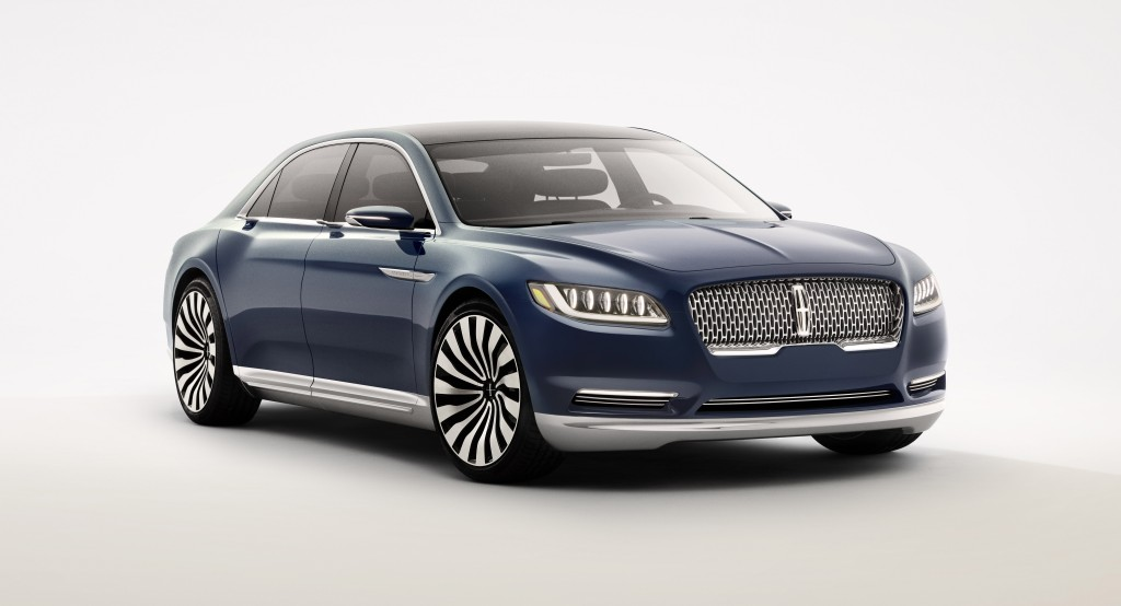 This is it: the Lincoln Continental. And yes, it will be built (Image: Ford Motor Company)
