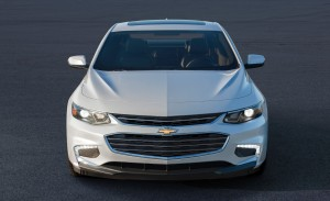 Some angles have the front end appearing awkward; head-on, it's not so pronounced (Image: General Motors)