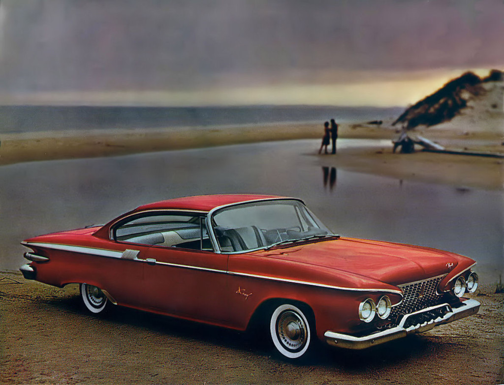 1961 Plymouth: a face not for forgetting.