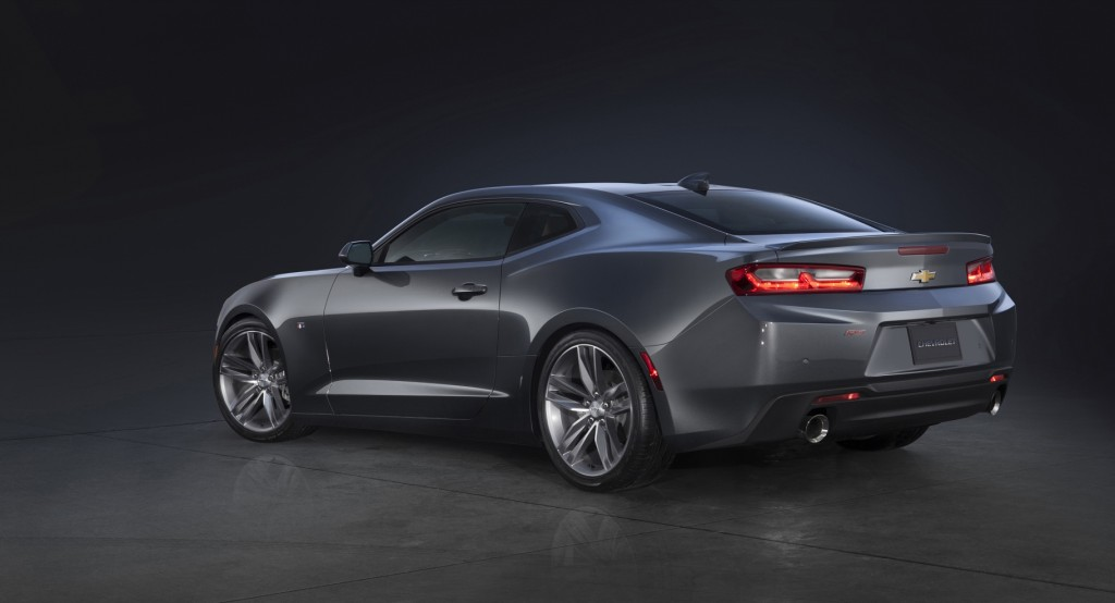 2016 Chevrolet Camaro RS (Image: General Motors)