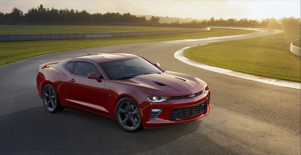 2016 Chevrolet Camaro (Image: General Motors)