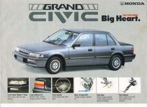The late-80s Civic had style to spare! (*cough*)