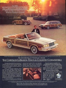 The man's desire for Chryslers was insatiable.