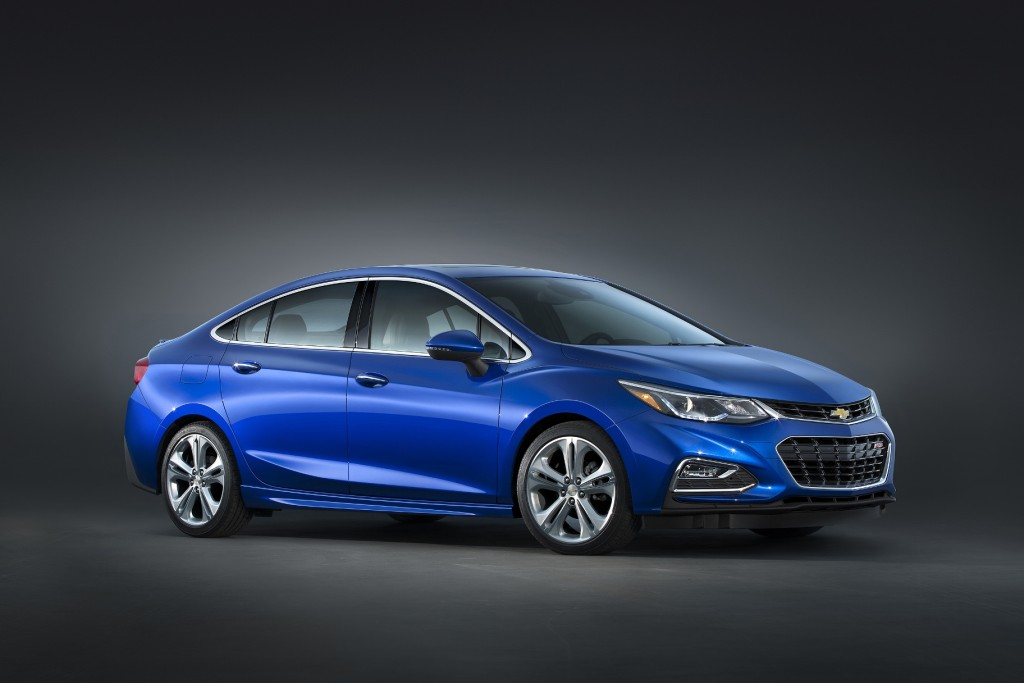 Significant changes are coming in the 2016 Chevrolet Cruze (Image: General Motors)