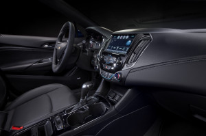 Interior of the 2016 Cruze (Image: General Motors)