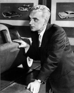 Virgil Exner, former Chrysler design head (Image via)
