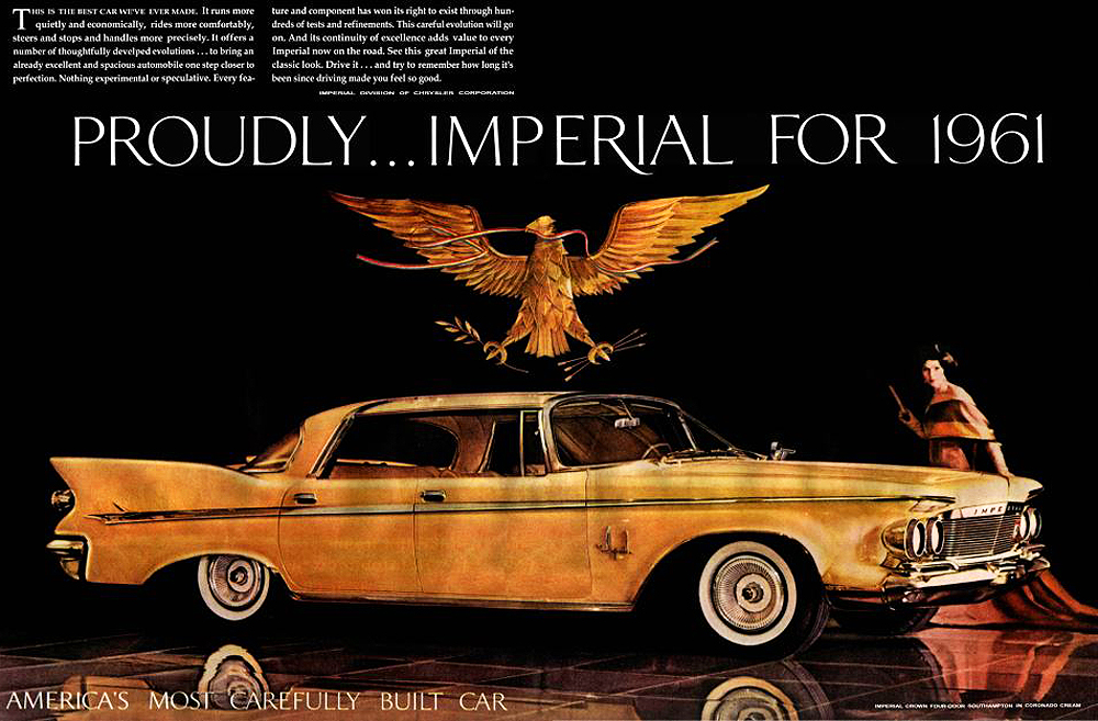 The 1961 Imperial: rich, regal... Reichstag?