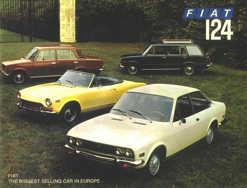 The full model range of the Fiat 124. Something for everyone.