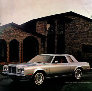 1981 Chrysler LeBaron Salon coupe, the Special's higher achieving sister.