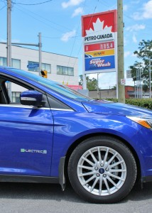 The Focus Electric doesn't care about inflated gas prices.