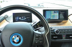 Like screens? The futuristic BMW i3 has screens aplenty.
