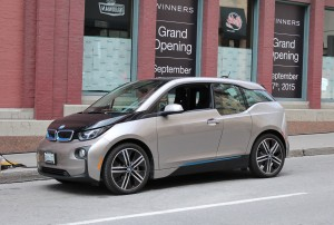 Like the Nissan LEAF, the BWM i3 will also get a range boost in the near future.